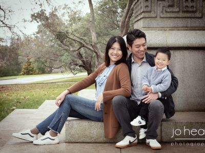 The Lu Family Portrait Experience